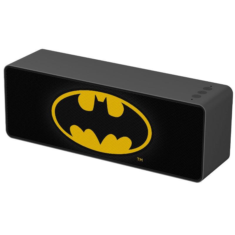 Altavoz Música Universal Bluetooth Licencia DC Batman 10W Rectangular