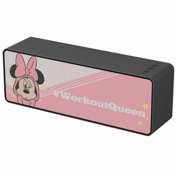 Altavoz Música Universal Bluetooth Licencia Disney Minnie 10W Rectangular