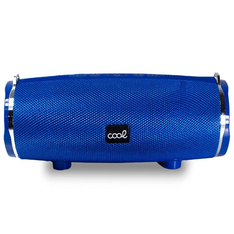 Altavoz Música Universal Bluetooth Marca COOL Brisbane (14W) Azul