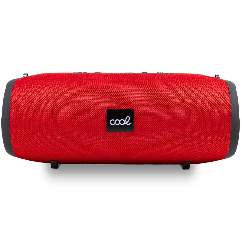 Altavoz Universal Música Bluetooth COOL Berlin (20W) Rojo