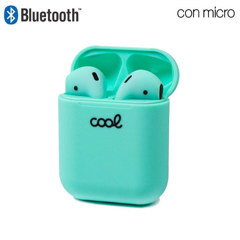 Auriculares Stereo Bluetooth Dual Pod COOL AIR V2 Mint