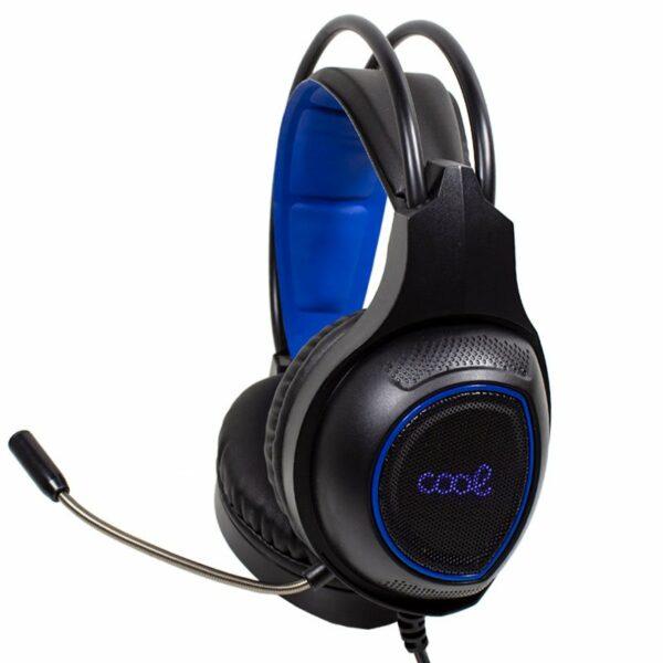 Auriculares Stereo PC / PS4 Gaming Iluminación COOL Oklahoma + Adapt. PS4
