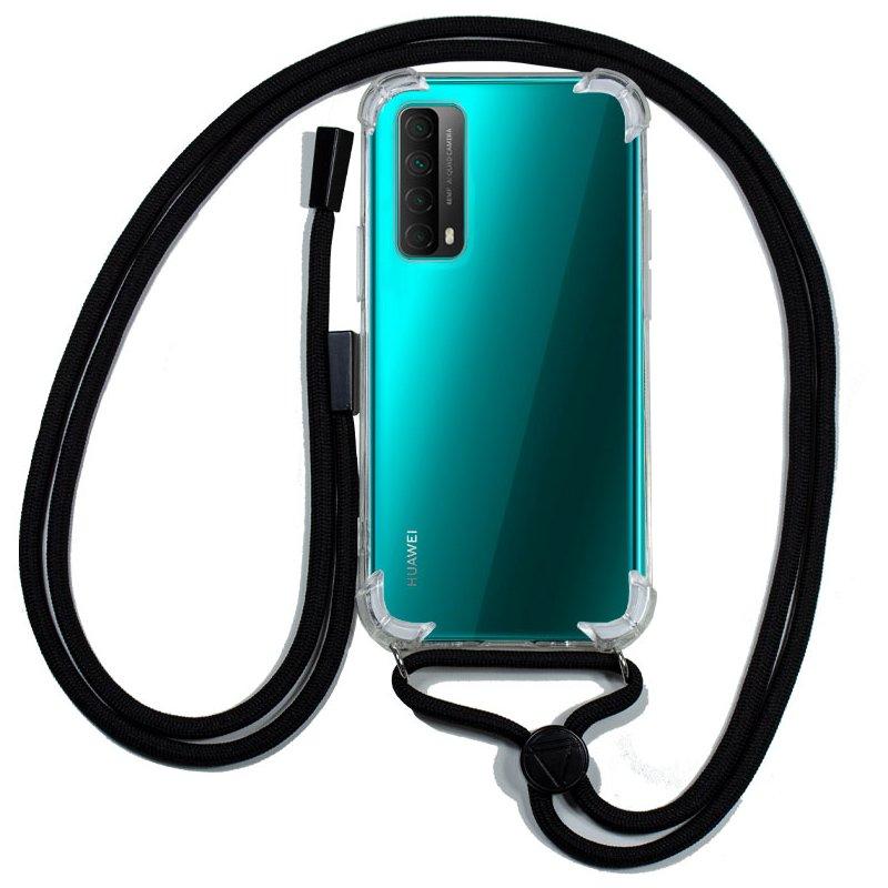Carcasa COOL para Huawei P Smart 2021 Cordón Negro
