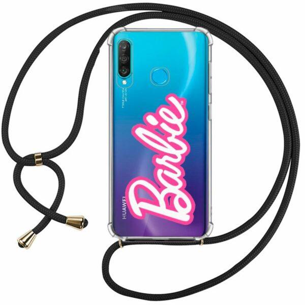 Carcasa COOL para Huawei P30 Lite Licencia Barbie Cordón