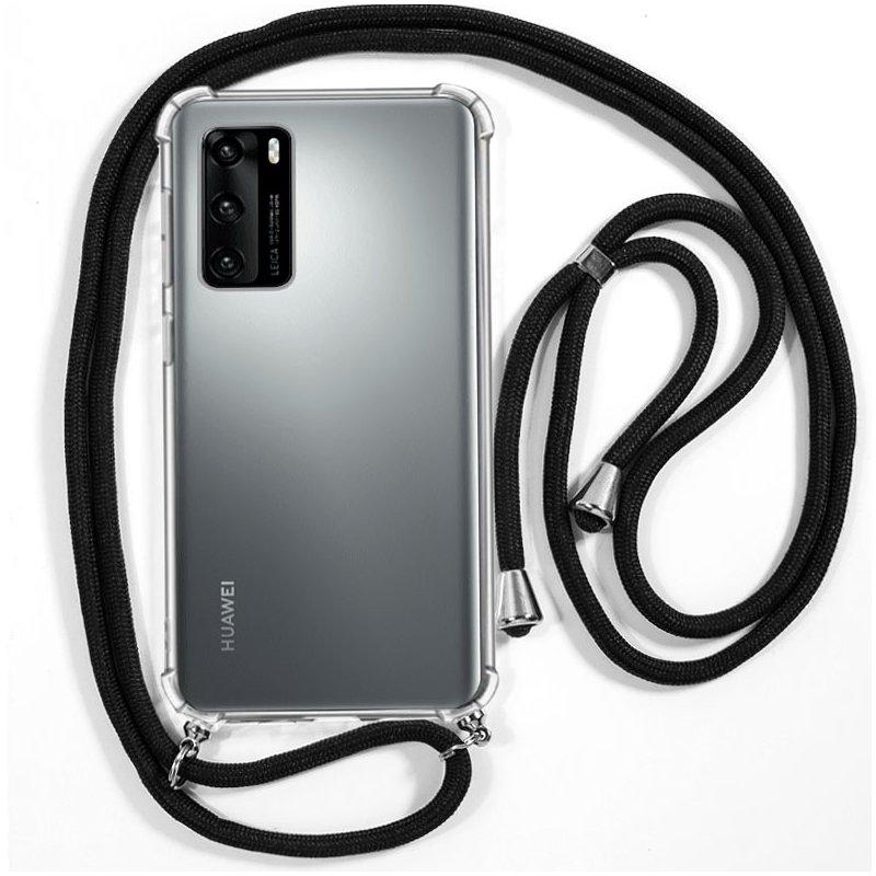 Carcasa COOL para Huawei P40 Cordón Negro