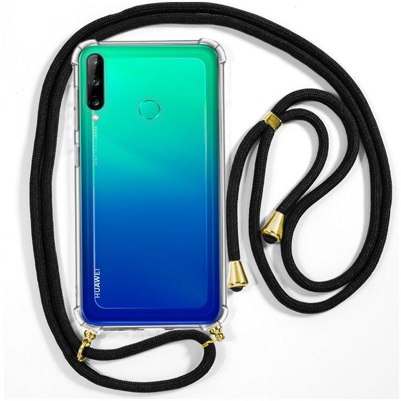 Carcasa COOL para Huawei P40 Lite E Cordón Negro