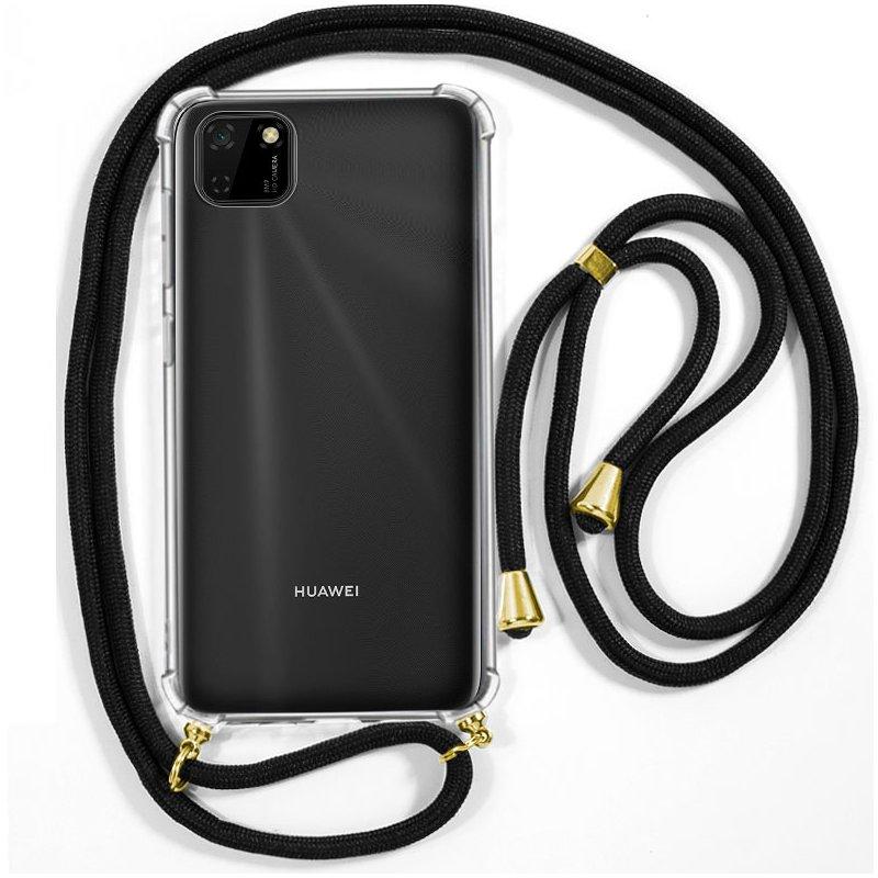 Carcasa COOL para Huawei Y5p Cordón Negro