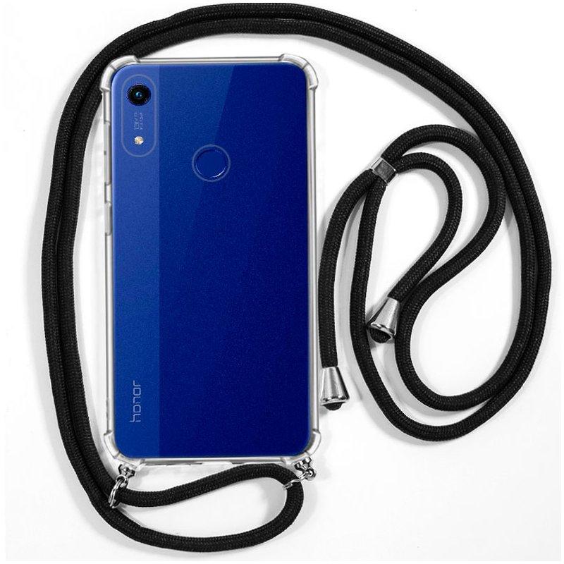 Carcasa COOL para Huawei Y6 (2019) / Y6s / Honor 8A Cordón Negro