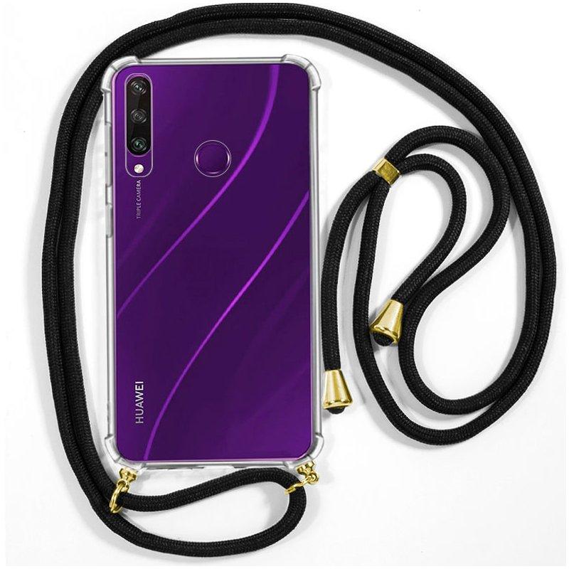 Carcasa COOL para Huawei Y6p Cordón Negro