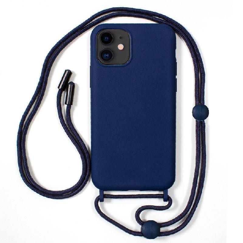 Carcasa COOL para iPhone 11 Cordón Liso Azul