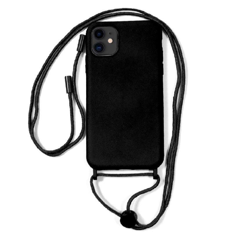 Carcasa COOL para iPhone 11 Cordón Liso Negro