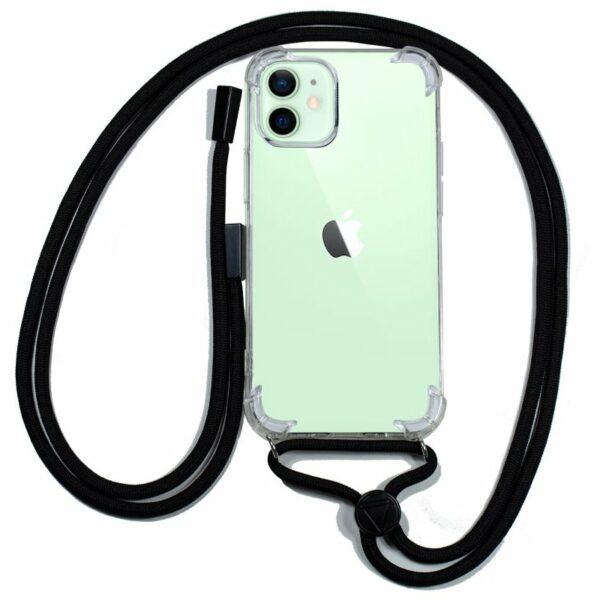 Carcasa COOL para iPhone 12 / 12 Pro Cordón Negro