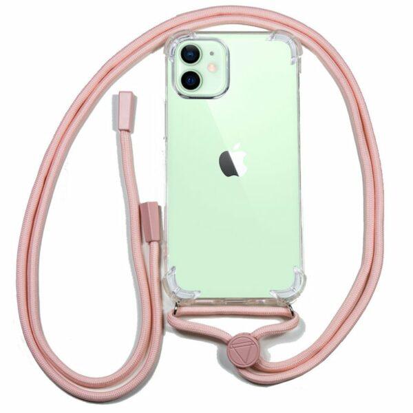 Carcasa COOL para iPhone 12 / 12 Pro Cordón Rosa