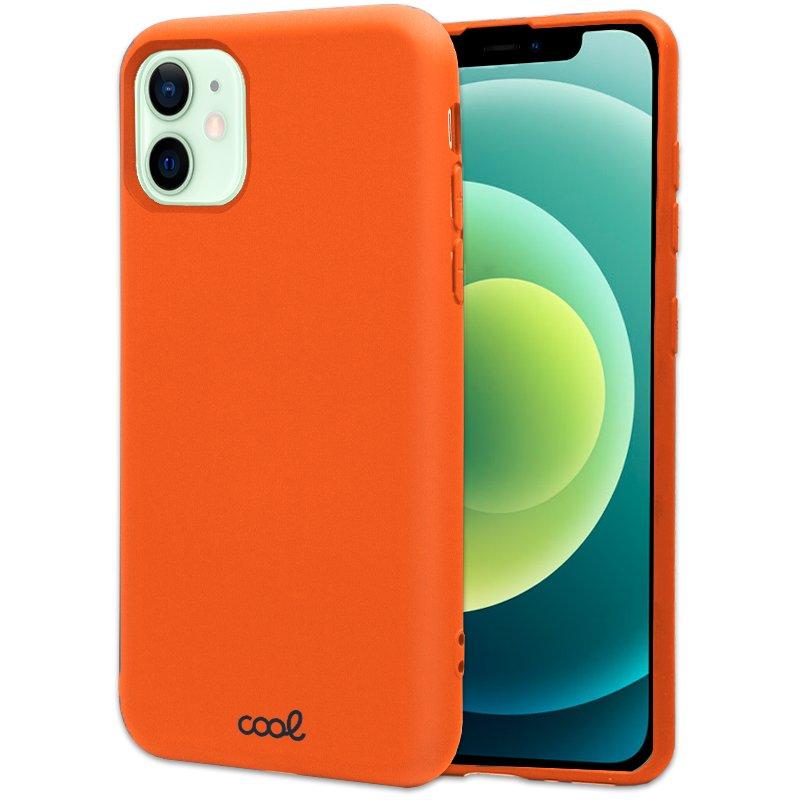 Carcasa COOL para iPhone 12 / 12 Pro Cover Salmón