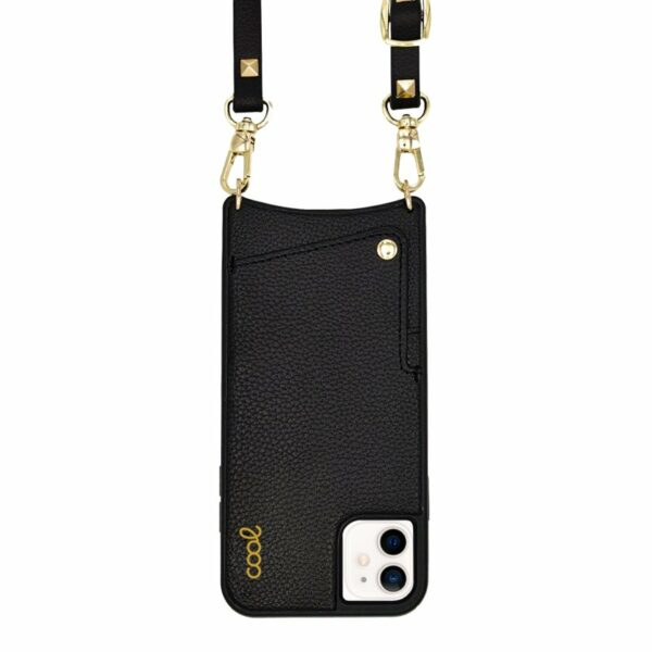 Carcasa COOL para iPhone 12 mini Correa Pop-Rock Negro