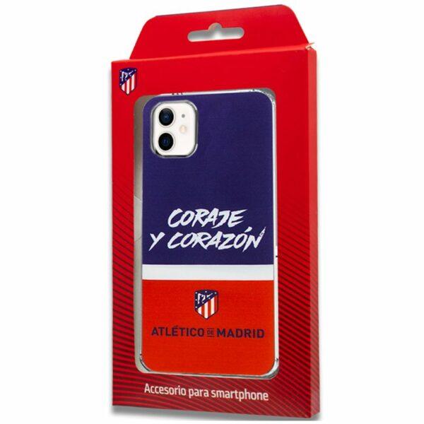 Carcasa COOL para iPhone 12 mini Licencia Fútbol Atlético De Madrid