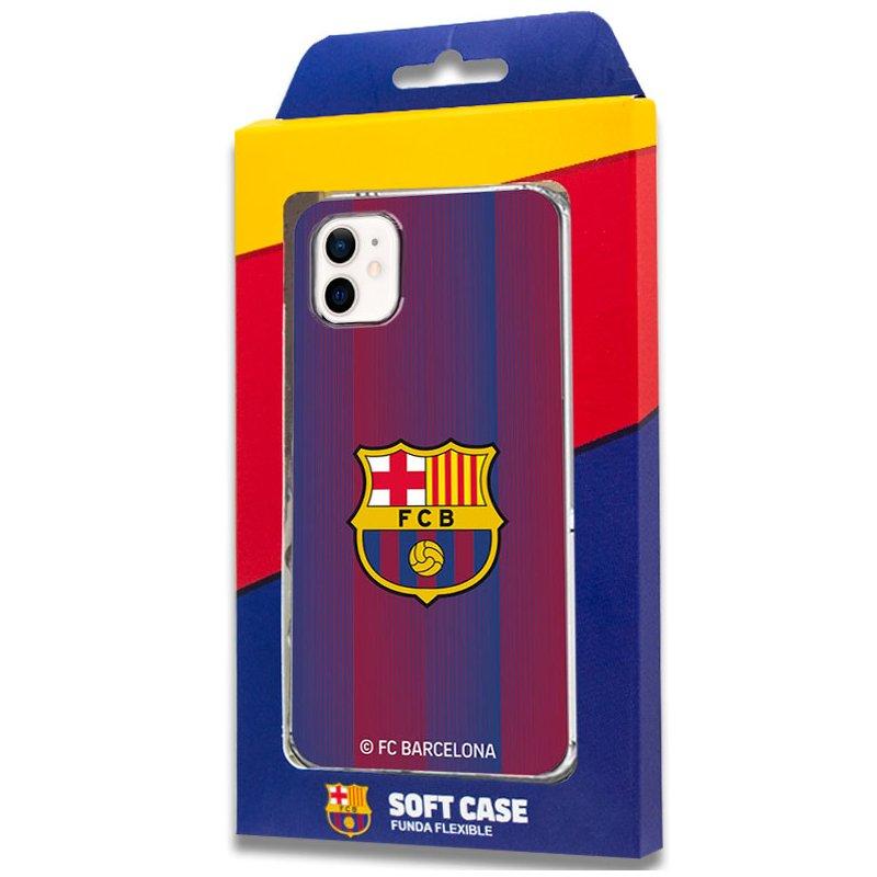 Carcasa COOL para iPhone 12 mini Licencia Fútbol F.C. Barcelona