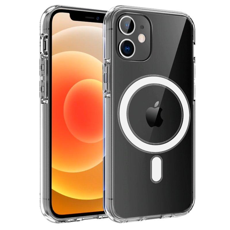 Carcasa COOL para iPhone 12 mini Magnética Transparente