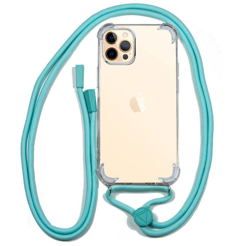 Carcasa COOL para iPhone 12 Pro Max Cordón Celeste
