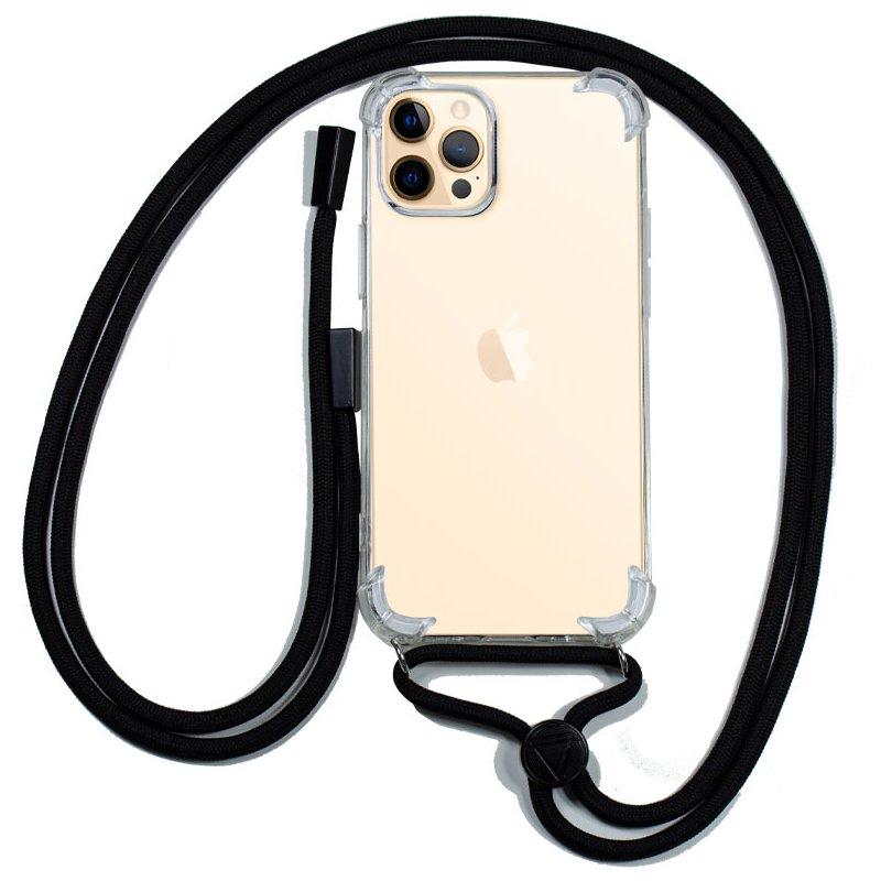 Carcasa COOL para iPhone 12 Pro Max Cordón Negro
