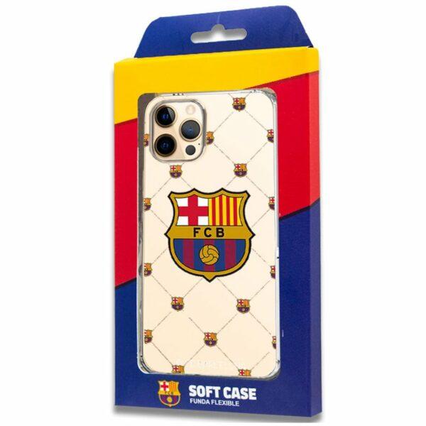 Carcasa COOL para iPhone 12 Pro Max Licencia Fútbol F.C. Barcelona