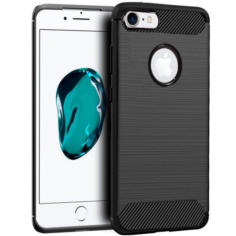 Carcasa COOL para iPhone 6 / 7 / 8 / SE (2020) Carbón Negro