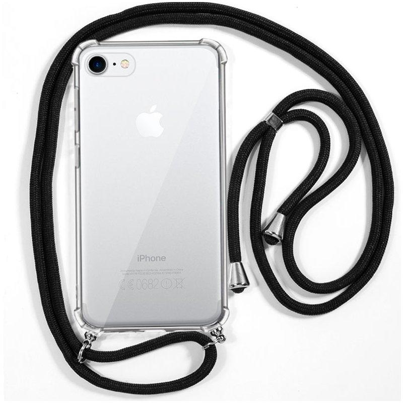 Carcasa COOL para iPhone 7 / 8 / SE (2020) Cordón Negro