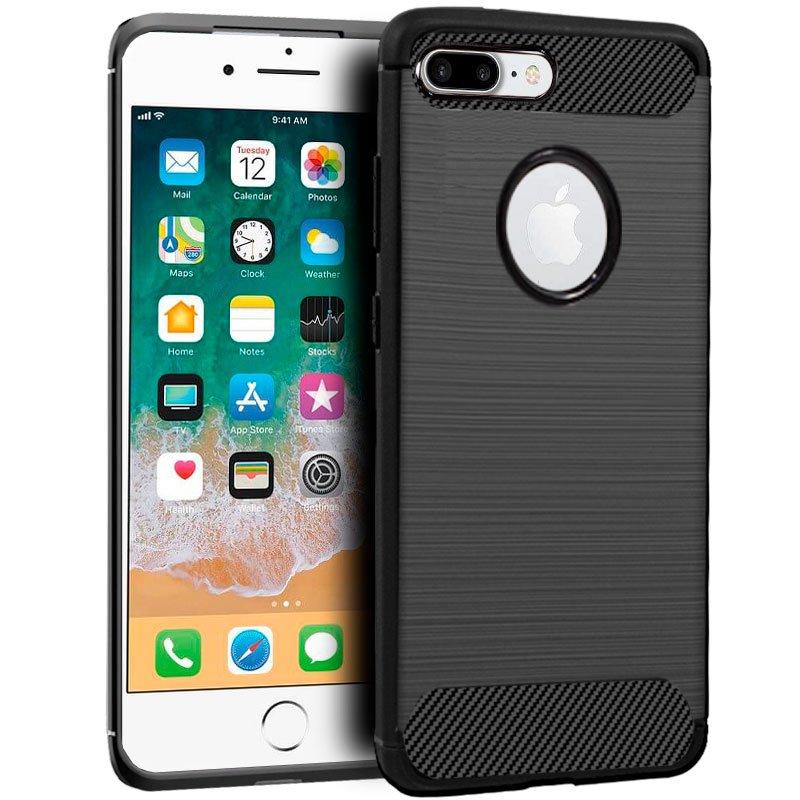 Carcasa COOL para iPhone 7 Plus / IPhone 8 Plus Carbón Negro