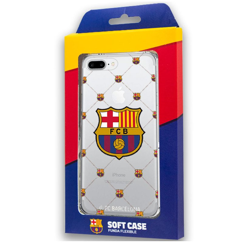 Carcasa COOL para iPhone 7 Plus / iPhone 8 Plus Licencia Fútbol F.C. Barcelona