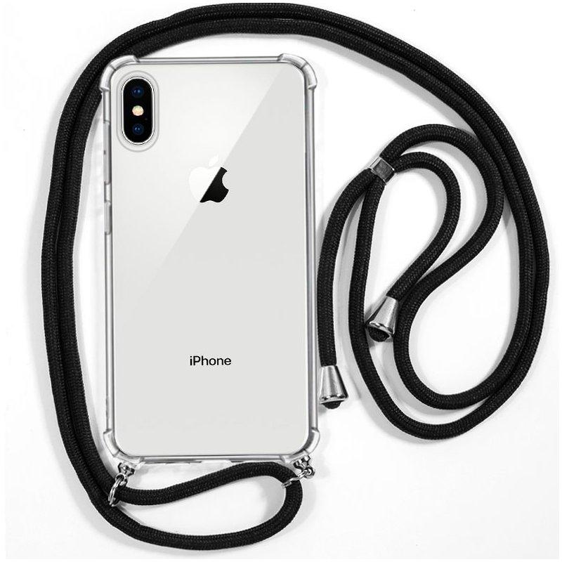 Carcasa COOL para iPhone X / iPhone XS Cordón Negro