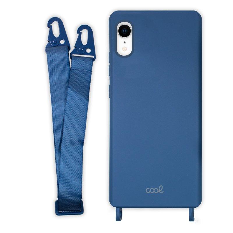 Carcasa COOL para iPhone XR Cinta Azul