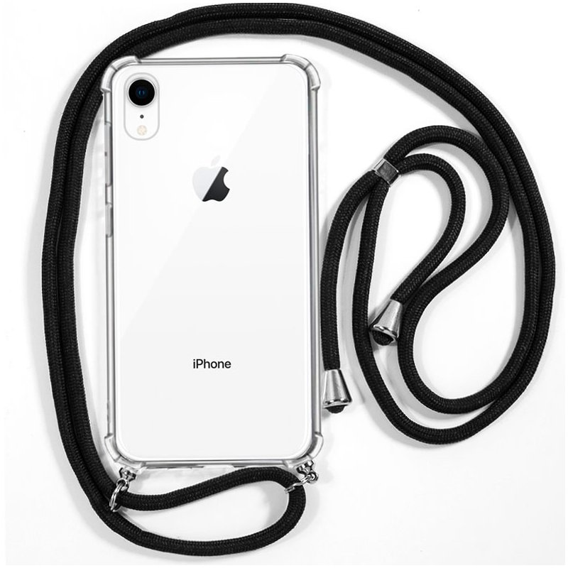 Carcasa COOL para iPhone XR Cordón Negro