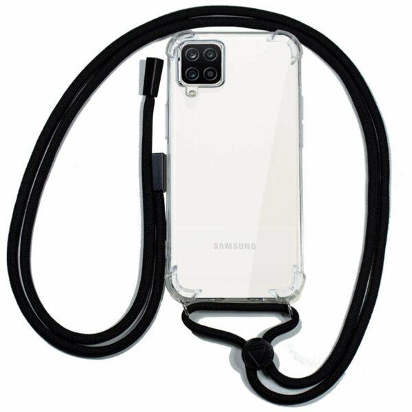 Carcasa COOL para Samsung A125 Galaxy A12 Cordón Negro