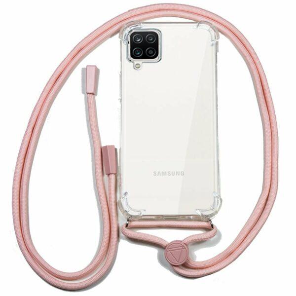 Carcasa COOL para Samsung A125 Galaxy A12 Cordón Rosa