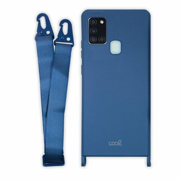 Carcasa COOL para Samsung A217 Galaxy A21s Cinta Azul