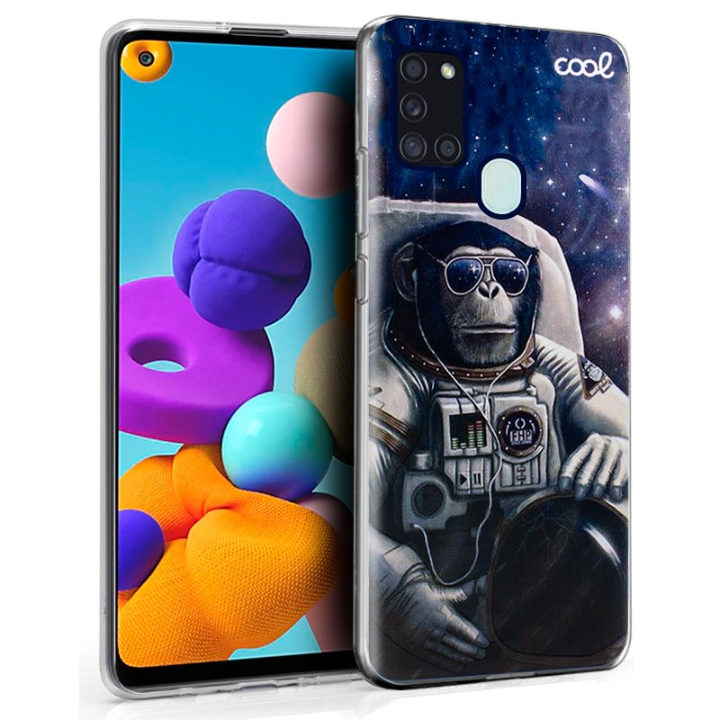 Carcasa COOL para Samsung A217 Galaxy A21s Dibujos Astronauta
