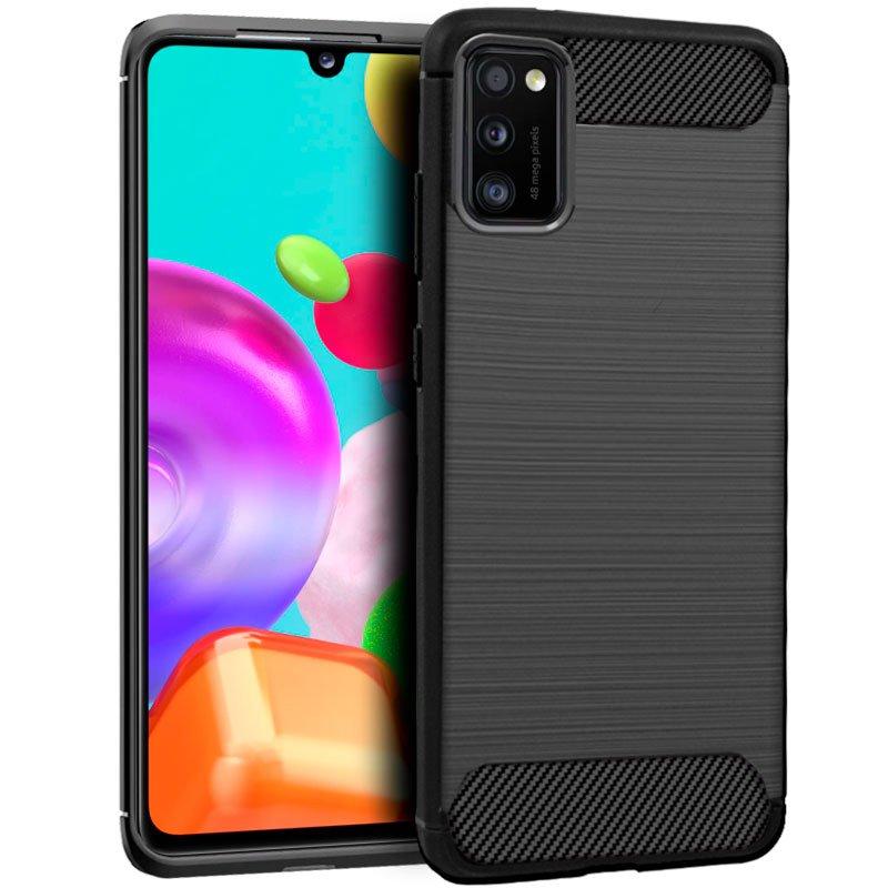 Carcasa COOL para Samsung A415 Galaxy A41 Carbón Negro