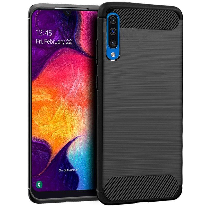 Carcasa COOL para Samsung A505 Galaxy A50 / A30s Carbón Negro