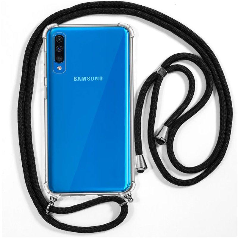 Carcasa COOL para Samsung A505 Galaxy A50 / A30s Cordón Negro