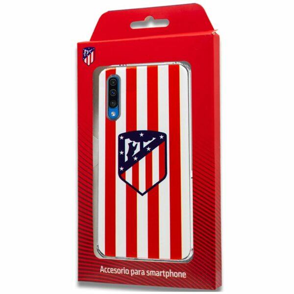 Carcasa COOL para Samsung A505 Galaxy A50 / A30s Licencia Fútbol Atlético De Madrid