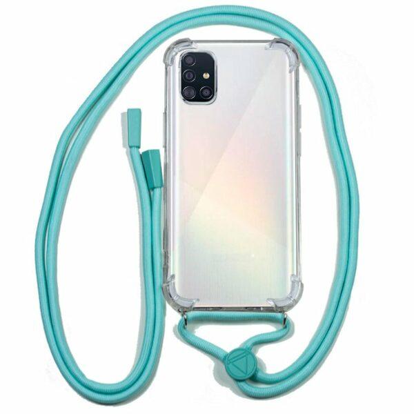 Carcasa COOL para Samsung A515 Galaxy A51 Cordón Celeste