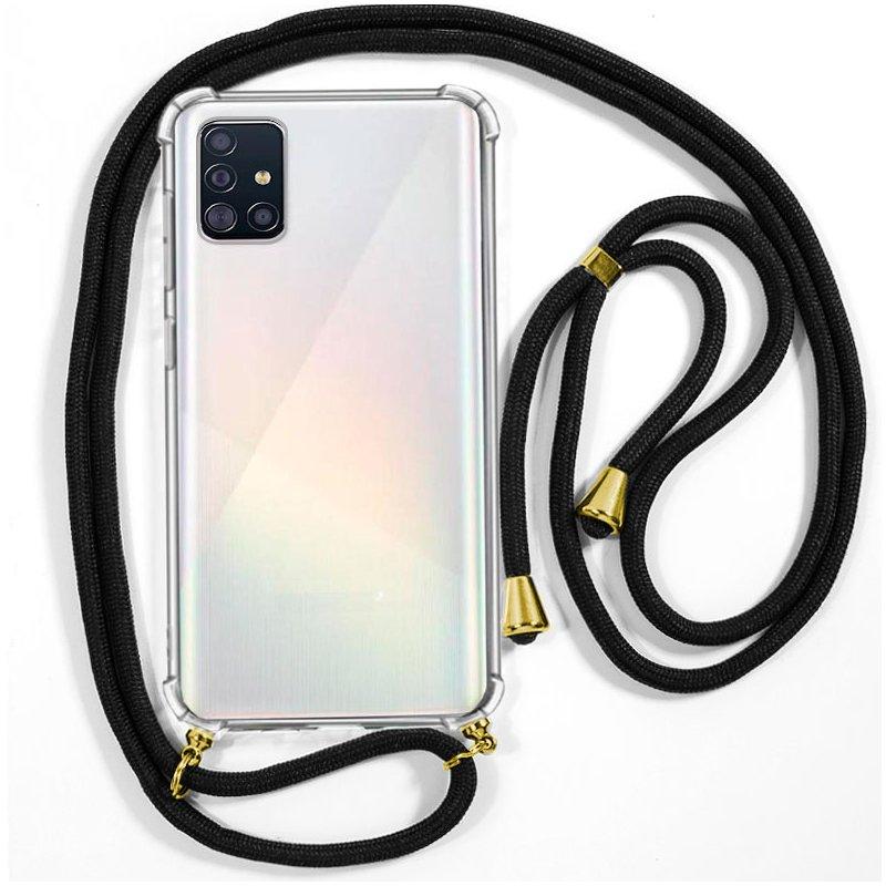 Carcasa COOL para Samsung A515 Galaxy A51 Cordón Negro