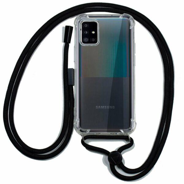 Carcasa COOL para Samsung A516 Galaxy A51 5G Cordón Negro