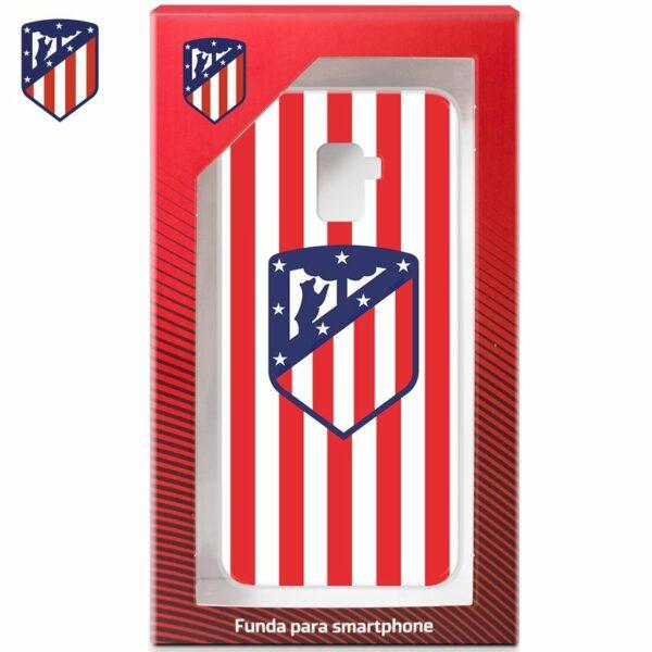 Carcasa COOL para Samsung A530 Galaxy A8 (2018) Licencia Fútbol Atlético Madrid