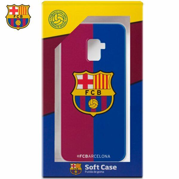 Carcasa COOL para Samsung A530 Galaxy A8 (2018) Licencia Fútbol F.C. Barcelona