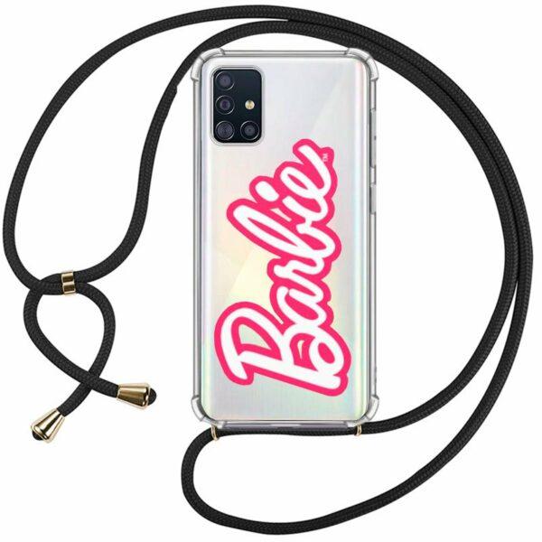 Carcasa COOL para Samsung A715 Galaxy A71 Licencia Barbie Cordón