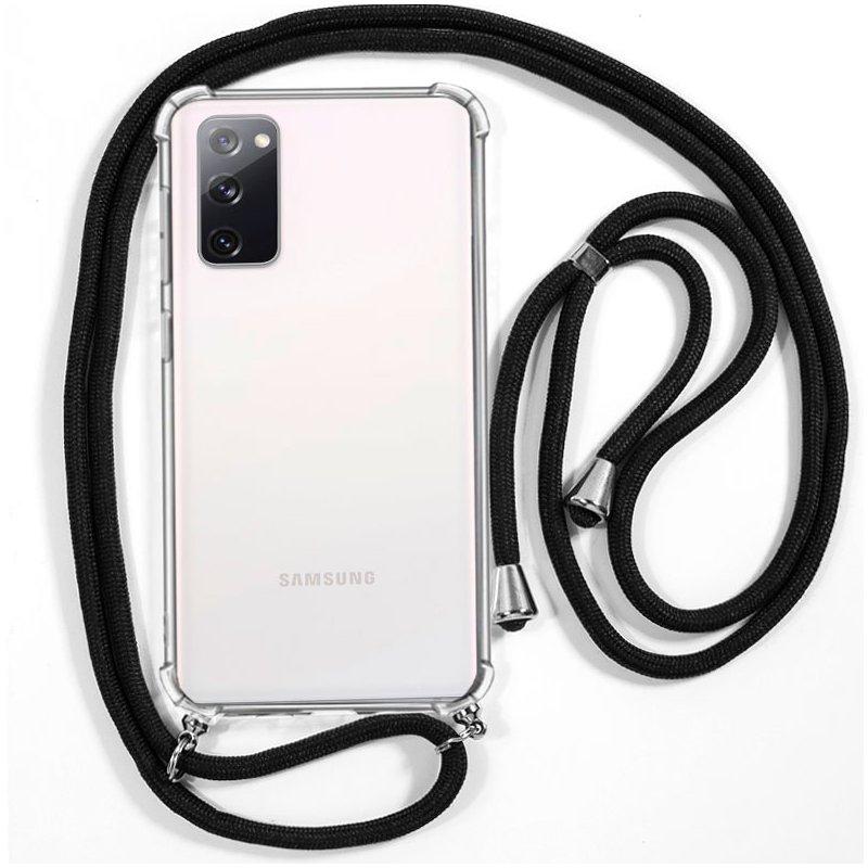 Carcasa COOL para Samsung G780 Galaxy S20 FE Cordón Negro