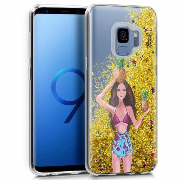 Carcasa COOL para Samsung G960 Galaxy S9 Glitter Piñas