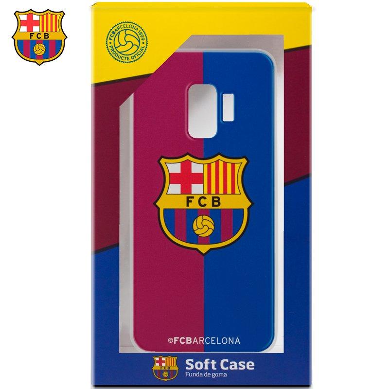 Carcasa COOL para Samsung G960 Galaxy S9 Licencia Fútbol F.C. Barcelona