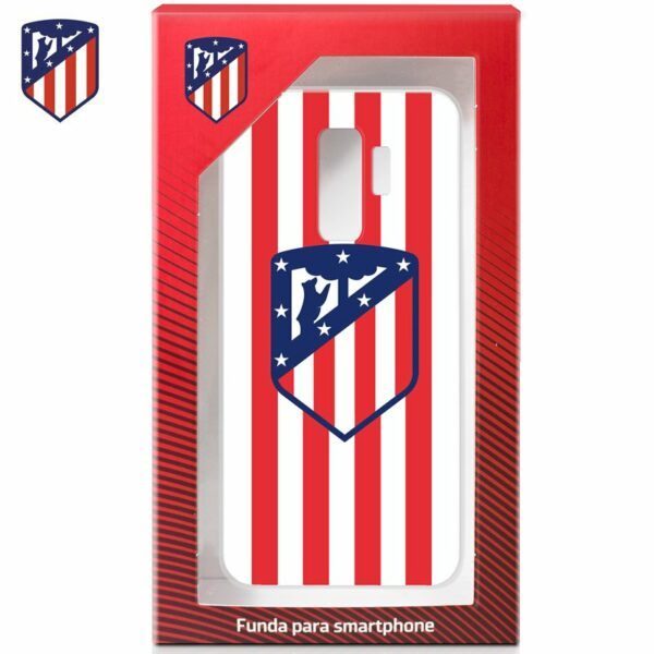 Carcasa COOL para Samsung G965 Galaxy S9 Plus Licencia Fútbol Atlético de Madrid